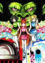 Powerpuff Girls by fhao-ra