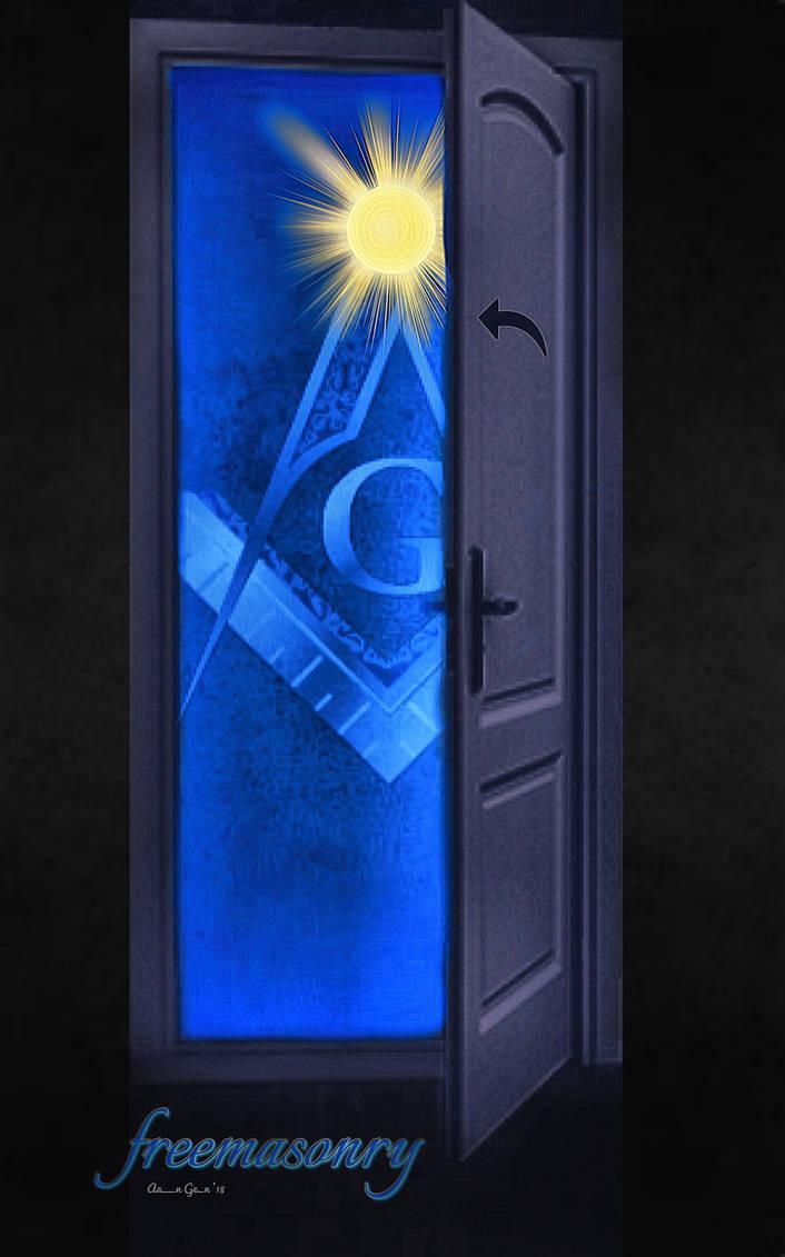 The Door Was Opened Unto You by artistaaron28