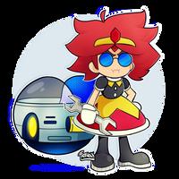 Sonic Mania | Eggatha / Eggette by justfream