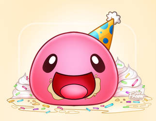 Happy Birthday Slime Rancher! by justfream