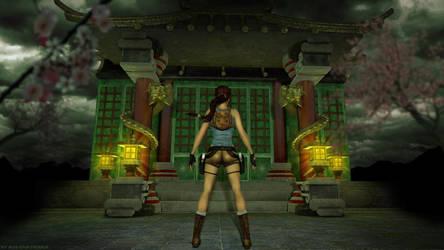 Tomb Raider 2 - Floating Islands wallpaper by Roli29