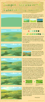 Simple Grassland Tutorial + brush settings by Lambity
