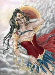 Amazon princess by MargaretSeidler