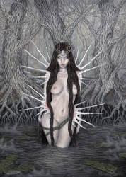 Swamp lamia by MargaretSeidler