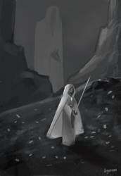 Quest of the Sword by stonesbreaak