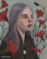 Carnation Girl by stonesbreaak