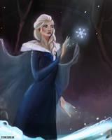 Elsa from Frozen!! by stonesbreaak