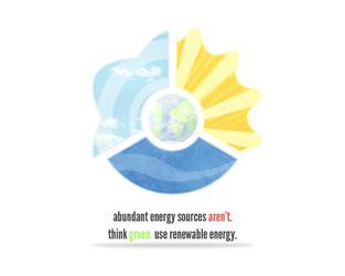 Renewable Energy. Think Green. by Tsun3