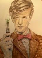 Matt Smith- 11th Doctor by OnceUponATime221B
