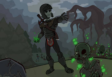 Necromancy by Myeecez