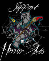 Support the Horror Arts by ZMBGraphics