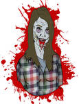 She's a zombie by ZMBGraphics