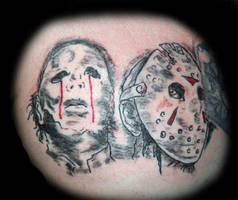 Mikey and Jason by ZMBGraphics