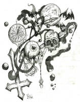 Psychic Drawing 1 by ZMBGraphics