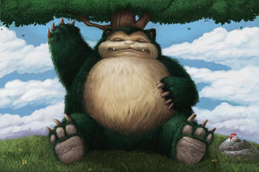 Snorlax by Gyorkland