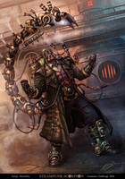 Steampunk Scorpion by Gyorkland