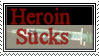 Heroin stamp by zaiger420