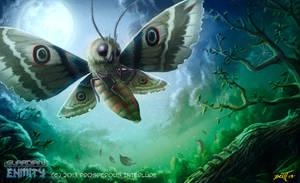 Giant Moth by feintbellt