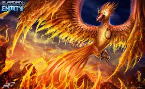 Ouroboros Phoenix by feintbellt