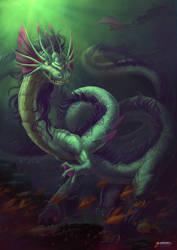Sea Dragon by feintbellt