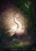 Sacred Peacock Guardian by feintbellt