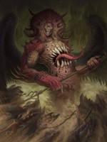 Guardian Monster by feintbellt