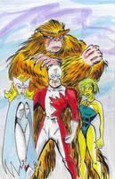 Alpha Flight by mzjoe