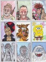 Sketch cards 16 by mzjoe