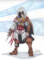 Enzio from Assassins Creed by mzjoe