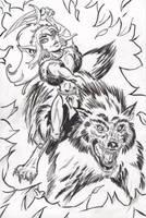 Cutter from Elfquest by mzjoe