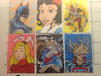 Sketch cards 11/5/14 by mzjoe