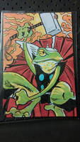 Frog Thor by mzjoe
