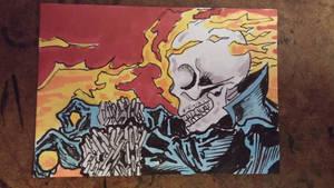 Ghost Rider by mzjoe