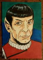 Spock by mzjoe