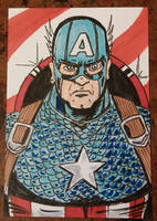 Captain America by mzjoe