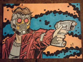 Star-Lord by mzjoe