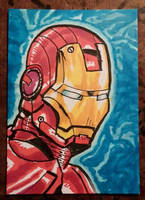 Iron Man by mzjoe