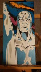 Silver Surfer by mzjoe