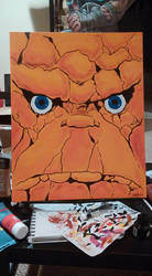 Thing Painting 2 by mzjoe