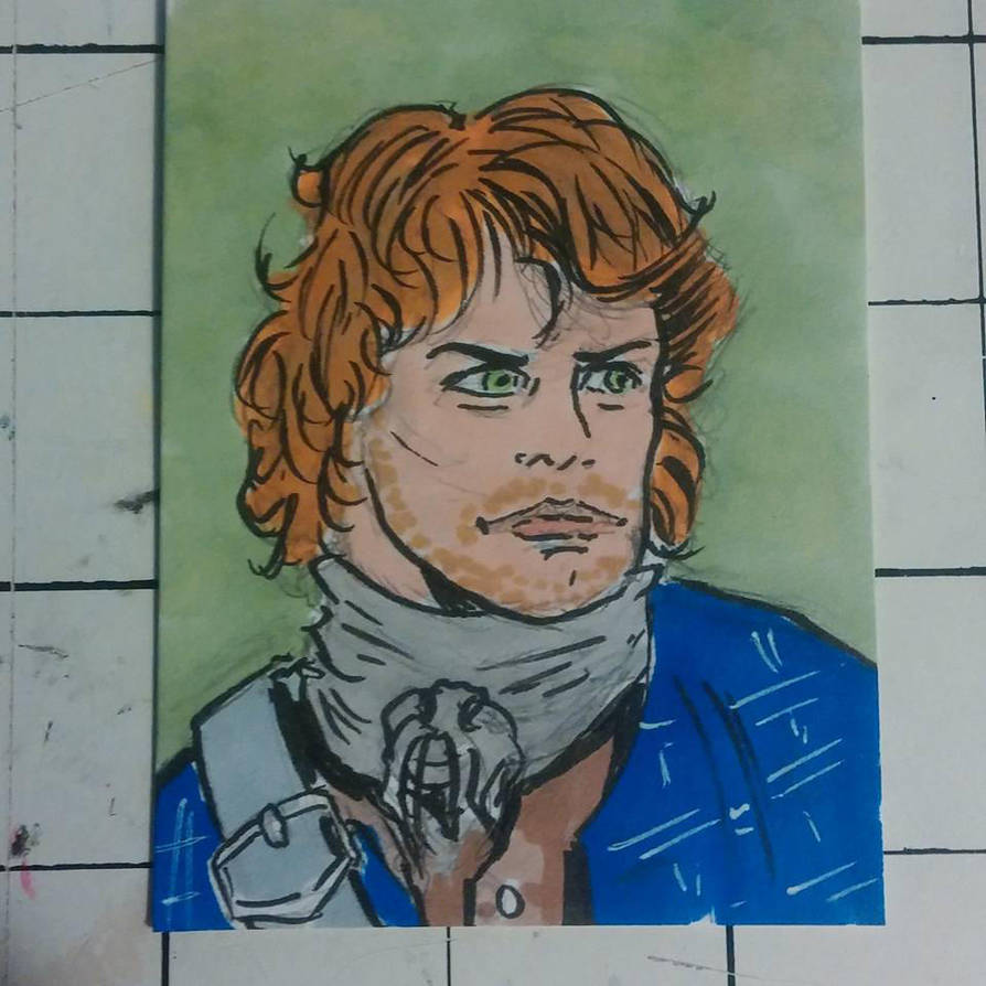 James Fraser from Outlander by mzjoe