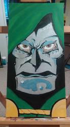 Doctor Doom by mzjoe