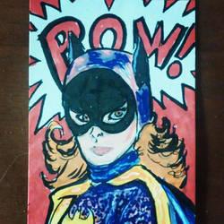 Batgirl Yvonne Craig by mzjoe