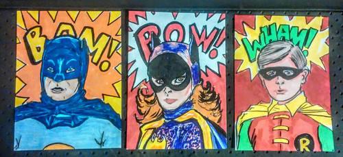 Batman 66 by mzjoe