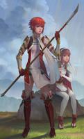 Hoshido Sisters by yagaminoue