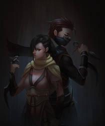 Ninja by yagaminoue