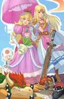 Super Smash Bros by yagaminoue