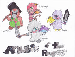 Anubis of the Reapers by irodude