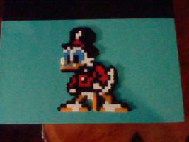 Uncle Scrooge McDuck: DuckTales NES Perler by irodude