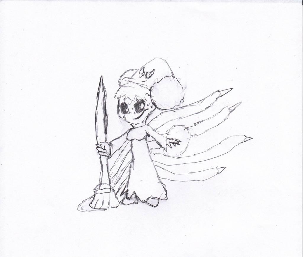 Dark Sara by irodude