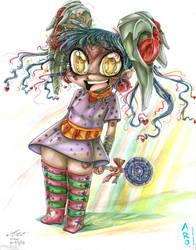 Jewel Rainbow Avatar Large by SparkletteMachina